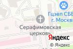 Схема проезда до компании Городская клиническая больница им. М.Е. Жаткевича в Москве