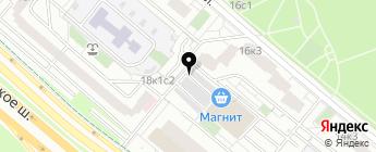 Рублевка-18 на карте Москвы