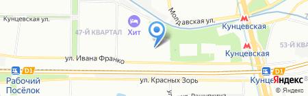 СетиСтрой на карте Москвы