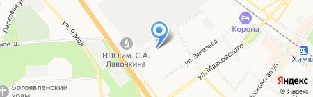 Мед-Магазин на карте Химок