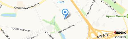Облгазсервис-Север на карте Химок