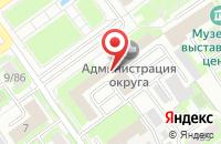 Схема проезда до компании Ипотечная Корпорация Серпухова в Серпухове