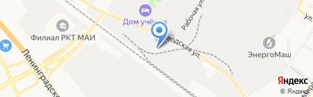 Сезам на карте Химок