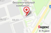 Схема проезда до компании Зенит в Москве