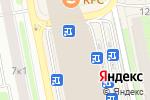 Схема проезда до компании TopDelivery в Москве