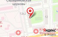 Схема проезда до компании Крайз в Москве