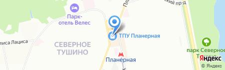 Норма на карте Москвы