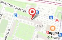 Схема проезда до компании Гранд-Йорки в Москве