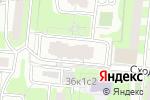 Схема проезда до компании Нелидовская-23/2 в Москве