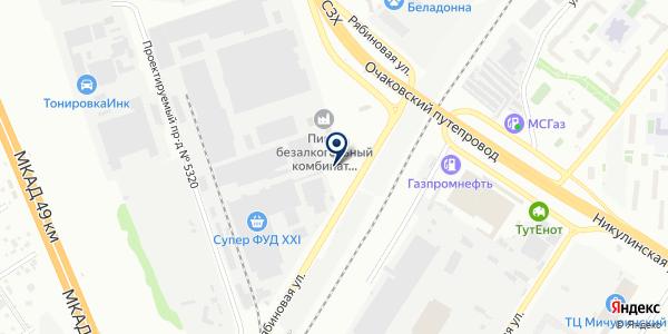Эксперт Транс Лоджик на карте Москве