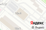 Схема проезда до компании Барс-Про в Москве