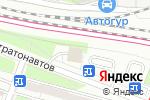 Схема проезда до компании Евровещь в Москве