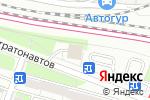 Схема проезда до компании PROservice в Москве