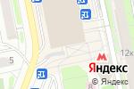Схема проезда до компании ВитаКухни в Москве