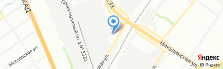 Чеклента-сервис на карте Москвы