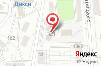 Схема проезда до компании Сакура в Москве