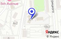 Схема проезда до компании ТФ ИНФОРМРЕСУРСПРОМ в Москве