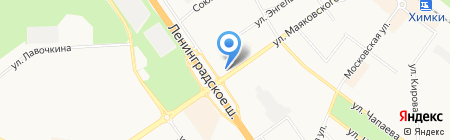 Прокуратура г. Химки на карте Химок