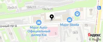 Major Renault на карте Москвы