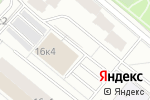 Схема проезда до компании oBLACKo в Москве