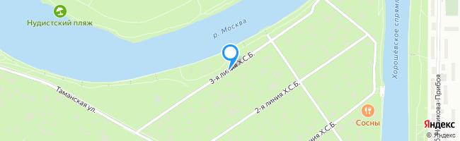 линия Хорошёвского Серебряного Бора 3-я