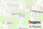 Схема проезда до компании Britannia school в Москве