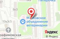 Схема проезда до компании Р-Пресс в Москве