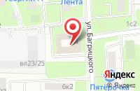 Схема проезда до компании Вектрус в Москве