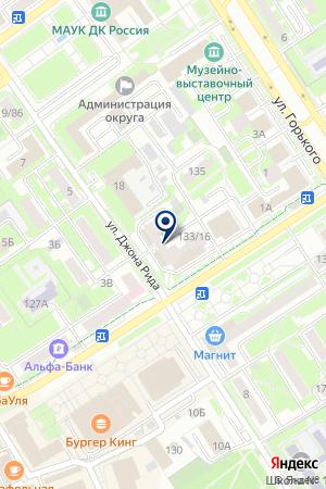 КАДАСТРОВЫЙ ИНЖЕНЕР на карте Серпухова