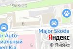 Схема проезда до компании Major в Москве