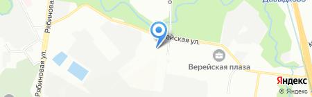 Русские Фонари на карте Москвы