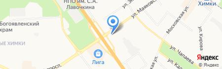 Нотариус Резников С.А. на карте Химок