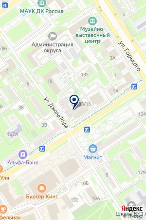 Парикмахерская Шоколад на карте Серпухова