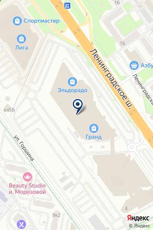 МАГАЗИН ОПТИКИ АЛЕФ-ОПТИКА на карте Химок