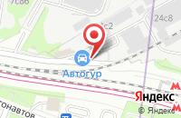 Схема проезда до компании Чиллаут в Москве