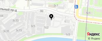 АВТОПРОЕКТ на карте Москвы