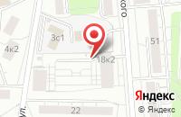 Схема проезда до компании Лтава в Москве