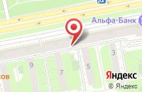 Схема проезда до компании Милком в Москве