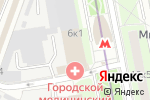 Схема проезда до компании Телфин в Москве
