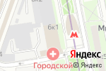 Схема проезда до компании Аполинария в Москве