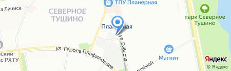 Инфосервис-МСК на карте Москвы