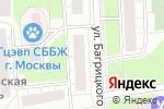 Схема проезда до компании Каравай СВ в Москве