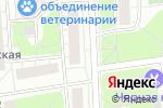 Схема проезда до компании Рыба здесь! в Москве
