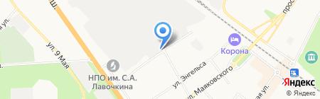 Крым на карте Химок