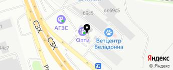 Софразвитие на карте Москвы