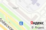 Схема проезда до компании Akten Doors в Москве