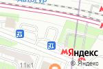 Схема проезда до компании Заряженный кофе в Москве