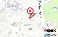 Схема проезда до компании Радиан в Москве