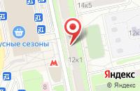 Схема проезда до компании Элегант Стайл в Москве