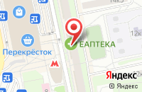 Схема проезда до компании Старион в Москве